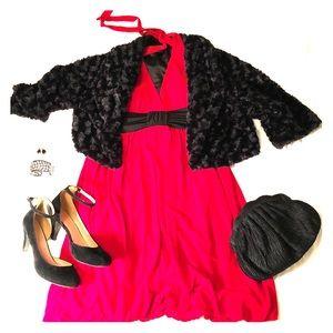 Halter dress with bubble hem, XL, Speechless